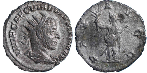 Roman Empire, Volusian (251-253), Antoninianus, Pax on rev.
