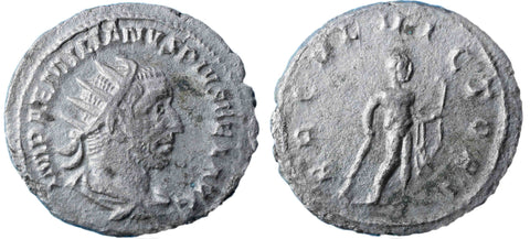 Roman Empire, Aemilian (Jul-Oct 253), Antoninianus, Hercules on rev.