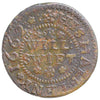 Worcestershire (160), Worcester, Will Swift, Halfpenny, 1662