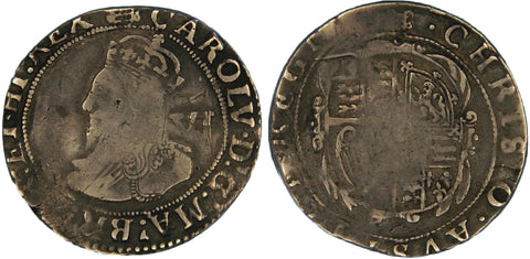 S.2812. Charles I (1625-1649) Sixpence with rare error reading.
