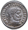 Roman Empire, Diocletian (284-305), Follis of Thessalonica, GENIO POPVLI ROMANI