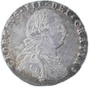 S.3748. George III (1760-1820), Sixpence, 1787, no hearts