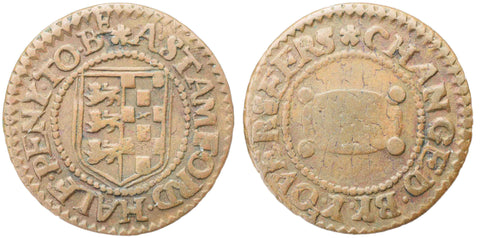 Lincolnshire (234), Stamford, Borough Halfpenny