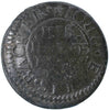 "Kent (270), Faversham, John Ellis, ""Backer"", Halfpenny, 1667"