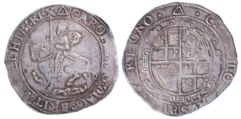 S.2776. Charles I (1625-1649) Halfcrown, Group III.