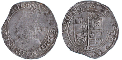 S.2817. Charles I (1625-1649), Sixpence, Group F.