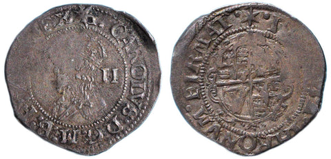 S.2832. Charles I (1625-1649), Halfgroat, Group D.