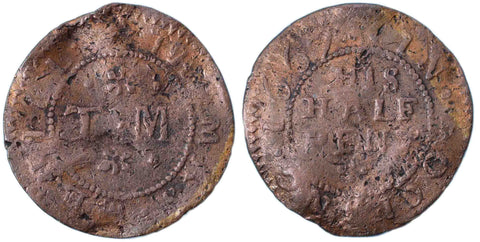 Essex ( 29), Bocking, Thomas Merill, Halfpenny, 1667