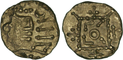 S. 813. Anglo-Saxon Coinage (c.710-60 AD), Silver Sceatta, Series R1.