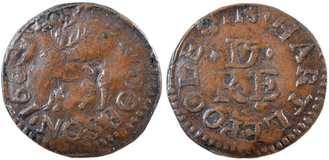 Durham (47), Hartlepool, Roger Dobson, 1662 (electrotype)