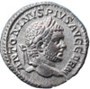 Roman Empire, Caracalla (198-217), Denarius, Lion on rev.