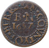 Berkshire ( 51, N. -), Newbury, Borough Farthing, 1657