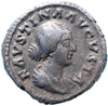 Roman Empire, Faustina Junior under Marcus Aurelius (161-175), Denarius, twin boys on rev.