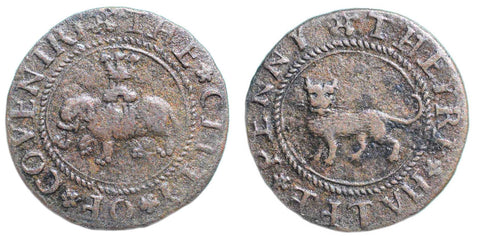 Warwickshire ( 54, N. 5301), Coventry, City Halfpenny