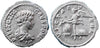 Roman Empire, Geta as Caesar (198-209), Denarius, Victory on rev.