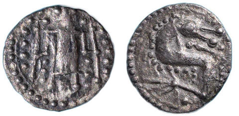 S. 807B. Anglo-Saxon Coinage (c.710-760 AD), Silver Sceatta, Secondary Series O.