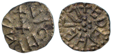 S. 870. Archbishop Wigmund of York (837-849/50), Copper Styca of EDELHELM