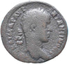 Roman Empire, Elagabalus (218-222), AE32 of Zeugma, Temple on rev.