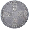 S.3538. William III (1694-1702), Sixpence, 1697, third bust, reading GVLIEIMVS.