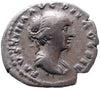 Roman Empire, Faustina Junior under Antoninus Pius (147-161), Denarius, Concordia on rev.