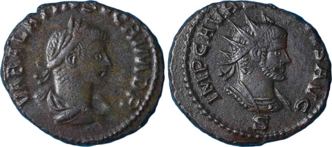 Roman Empire, Vabalathus (spring-summer 272), Antoninianus, Joint Coinage with Aurelian