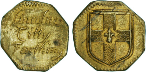 Lincolnshire (139), Lincoln, City farthing