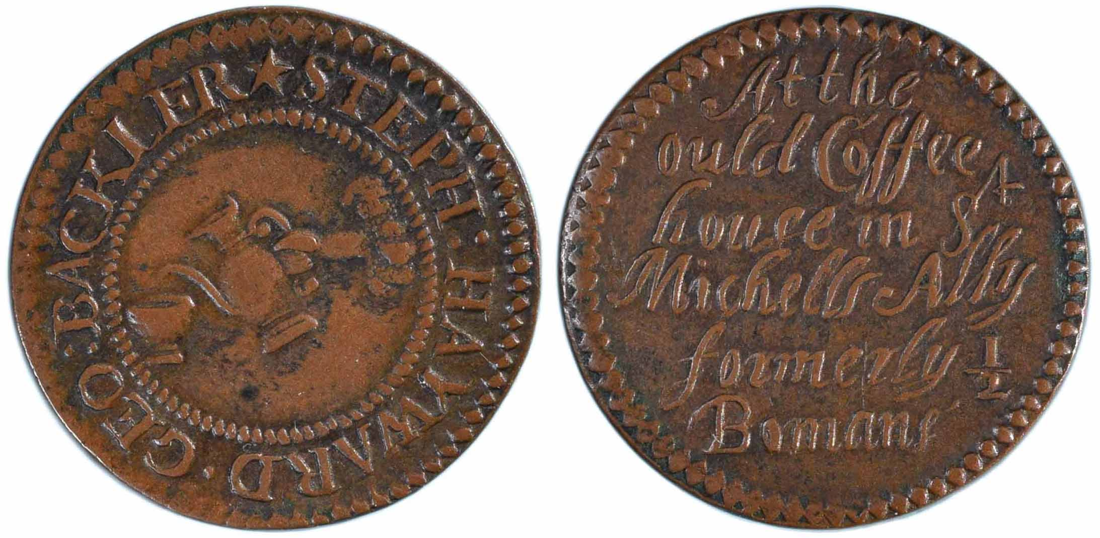 17th century tokens