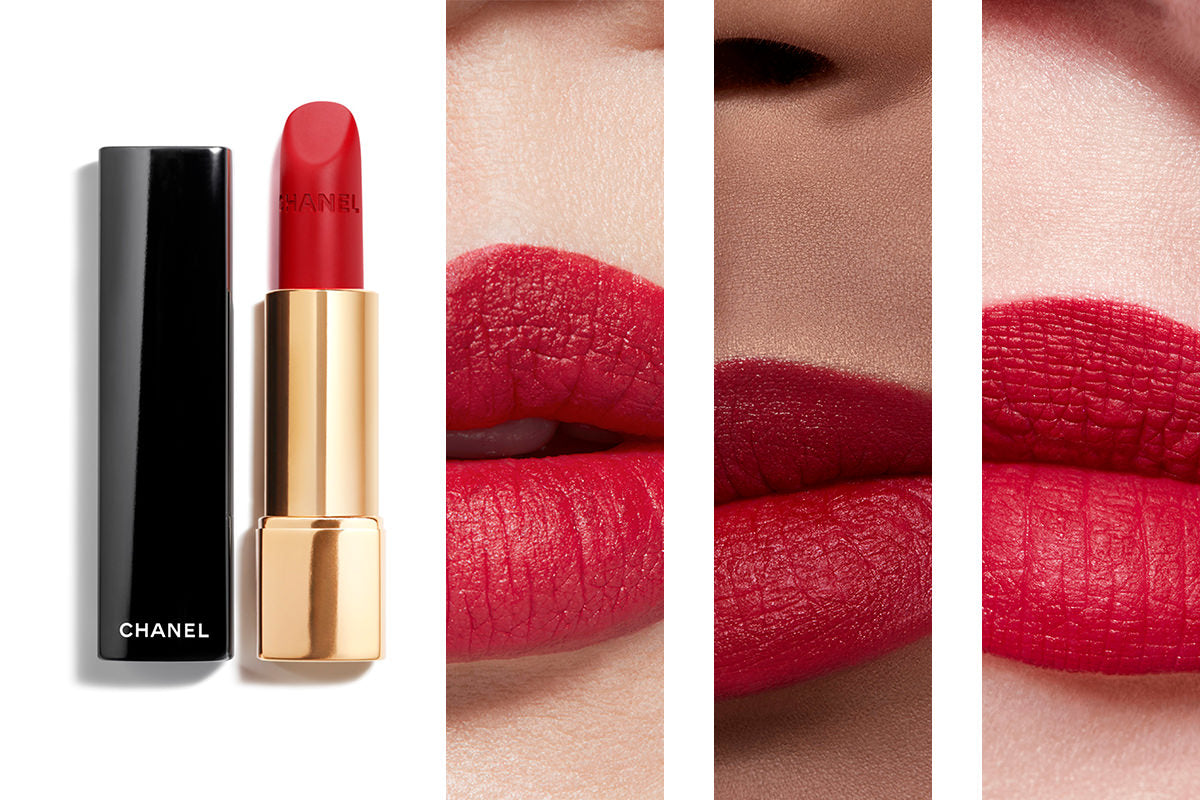 Chanel Rouge Allure Lipstick shade 56 Rouge Charnel