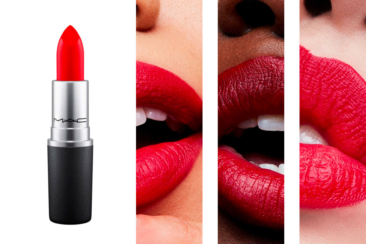 MAC Matte Lipstick shade Red Rock