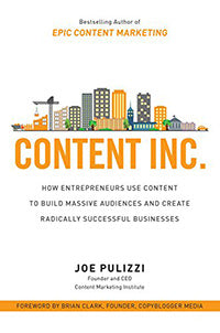 Content Inc. by Joe Pulizzi book cover