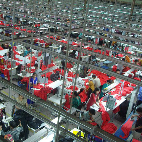 Urban Gilt The Gilty Report The True Cost Of Fashion Bangladeshi Factory