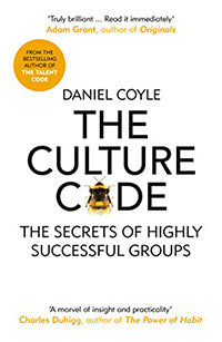 The Culture Code by Daniel Coyle book cover