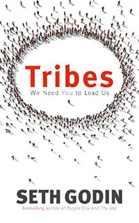 Tribes by Seth Godin book cover