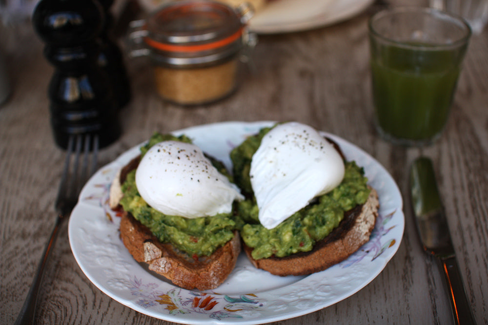 Urban Gilt The Gilty Report Egg Break Notting Hill Avocado Toast