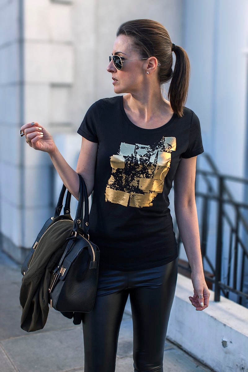 Urban Gilt Audley Black Lookbook Collision Point 4