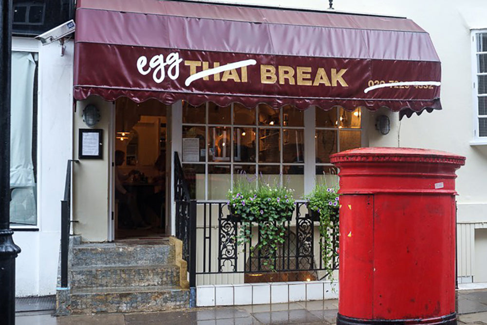 Urban Gilt The Gilty Report Egg Break Notting Hill Before Image