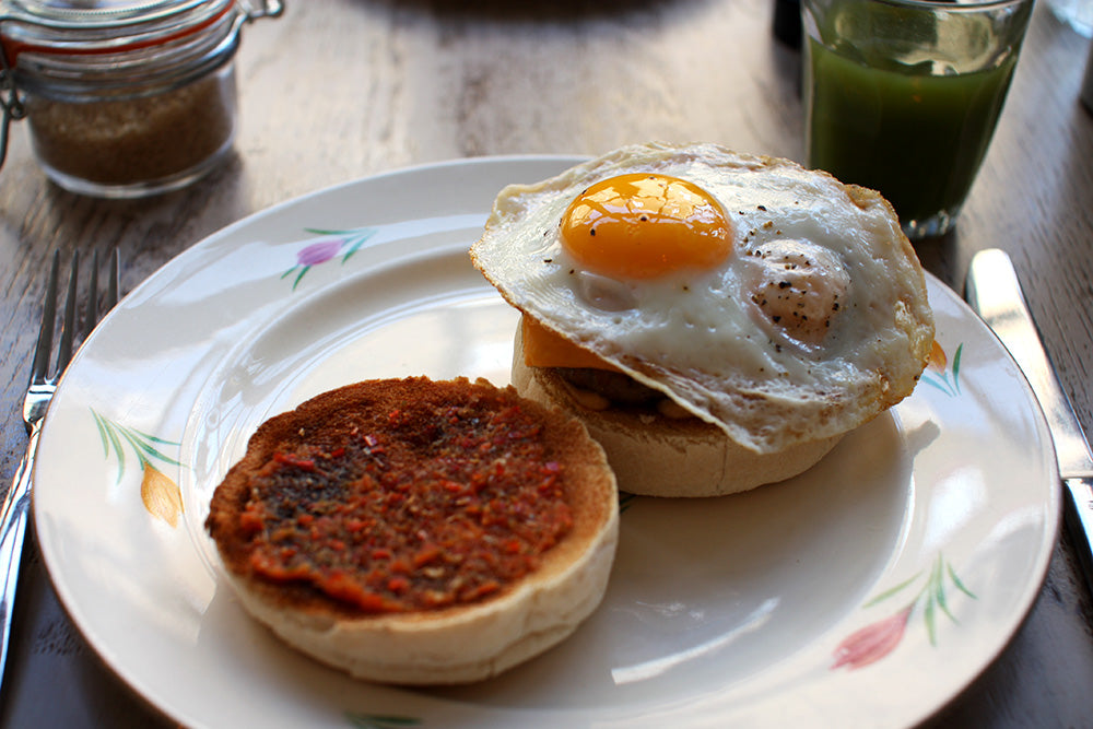Urban Gilt The Gilty Report Egg Break Notting Hill McMuffin