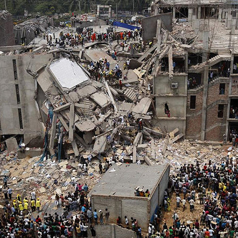 Urban Gilt The Gilty Report The True Cost Of Fashion Rana Plaza Factory