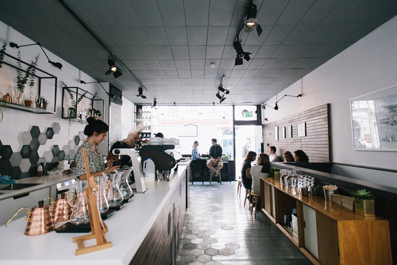 Curators Coffee Gallery interior - 11 of london's best coffee shops