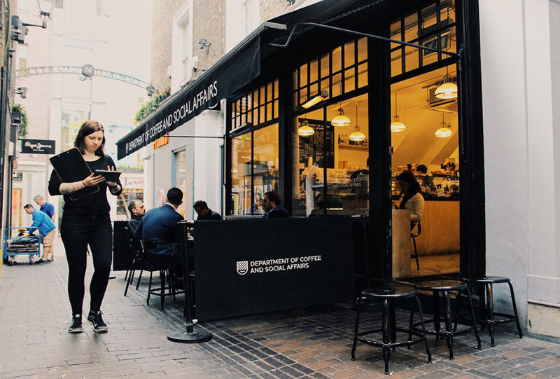 Department Of Coffee & Social Affairs exterior - 11 of london's best coffee shops