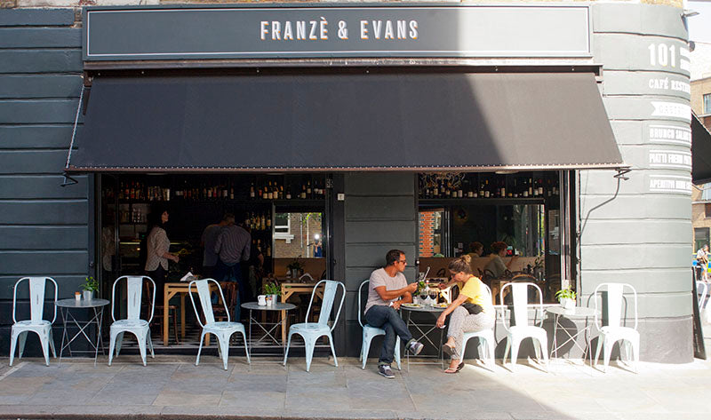 Franze & Evans exterior - 11 of london's best coffee shops