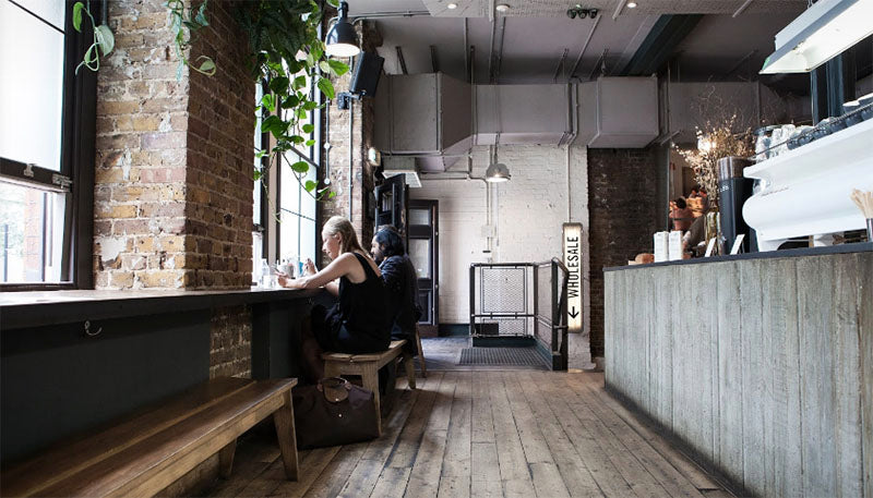 Ozone Coffee Roasters interior - 11 of london's best coffee shops