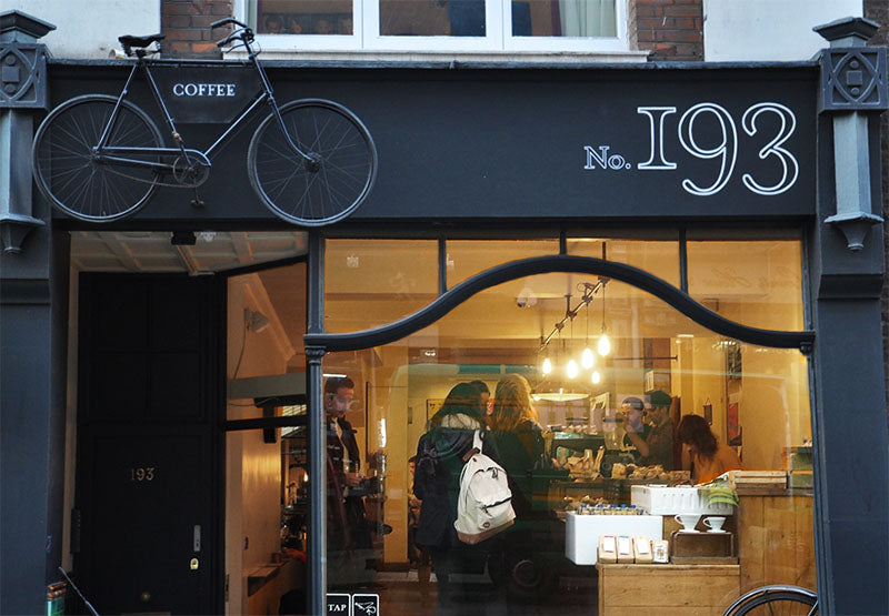 TAP Wardour Street exterior - 11 of london's best coffee shops