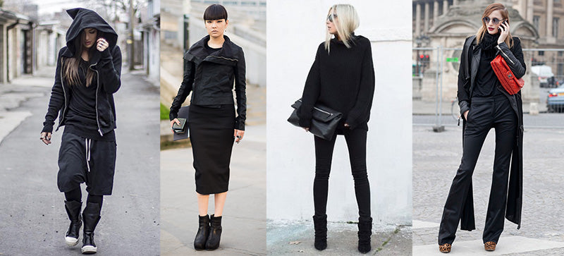 dark edge outfits - 5 ways to pimp your minimal style