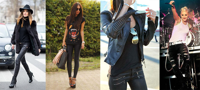 rock chick outfits - 5 ways to pimp your minimal style