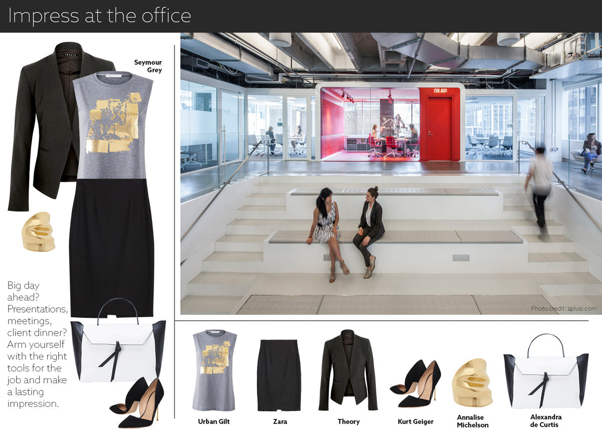 office outfit - embrace life in our gold printed women's t-shirt