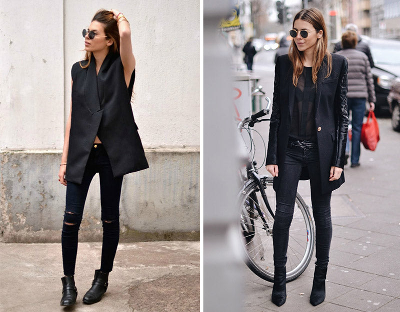 Maja Wyh minimal with an edge outfit