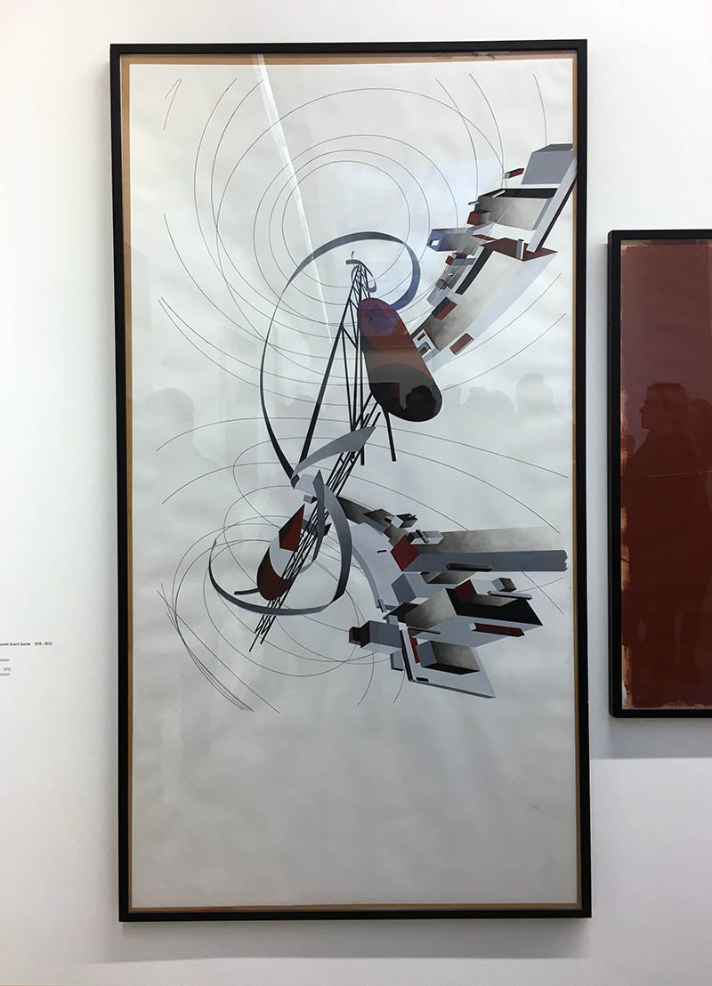 great utopias 1992 - zaha hadid paintings