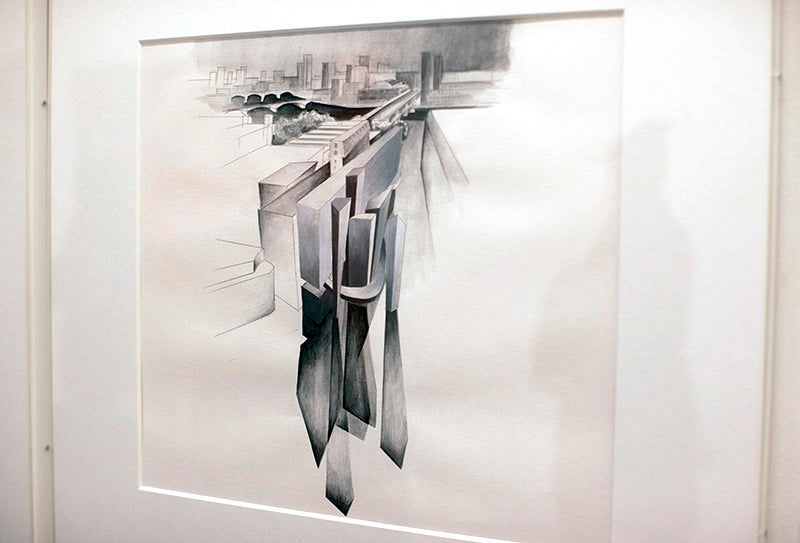 preliminary study - zaha hadid paintings