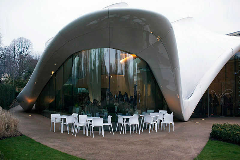 serpentine sackler gallery cafe exterior